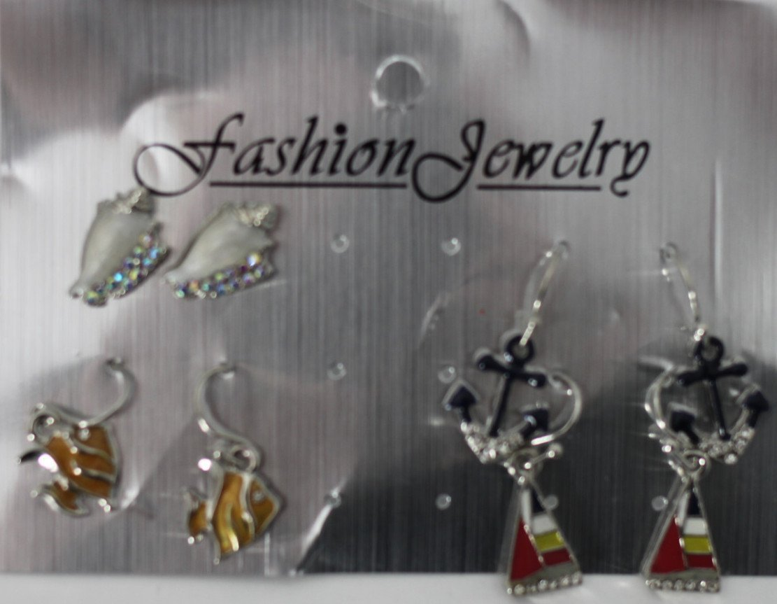 Beach Themed Earrings - The Fashion Foundation