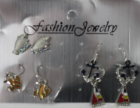 Beach Themed Earrings - Donated From The Designer