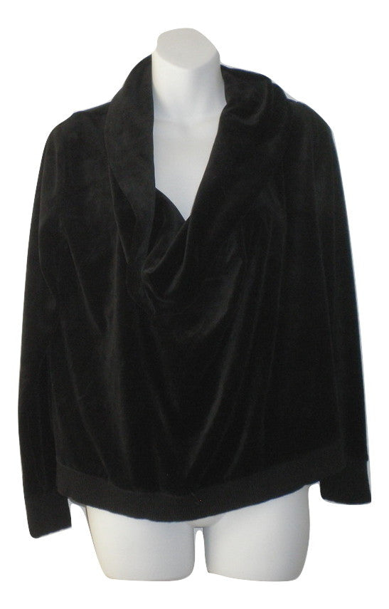 Michael Kors Black Cowl Neck Sweater- Size Petite Small