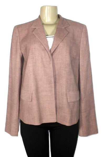 Lafayette 148 Dusty Pink Blazer - Size 2 - Donated From The Designer - The Fashion Foundation