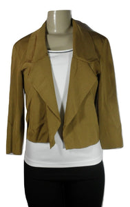 Lafayette 148 Dijon Brown Blazer - Medium - Donated From The Designer