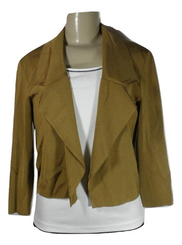 Lafayette 148 Dijon Brown Blazer - Medium - The Fashion Foundation