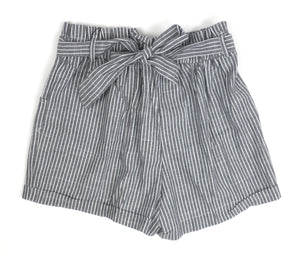 Zaful Gray Striped Shorts - Medium - The Fashion Foundation - {{ discount designer}}