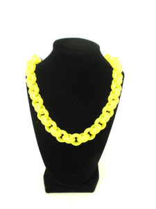 Yellow Chain Necklace