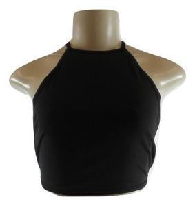 Zaful Black Crop Top - Small, Medium, Large - Donated From Designer - The Fashion Foundation