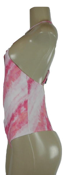 Zaful Pink Tie Dye One Piece Bathing Suit - Size Small - Donated From Designer - The Fashion Foundation