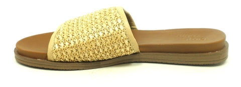 Faryl Robin Woven Slides - Size 6 - The Fashion Foundation