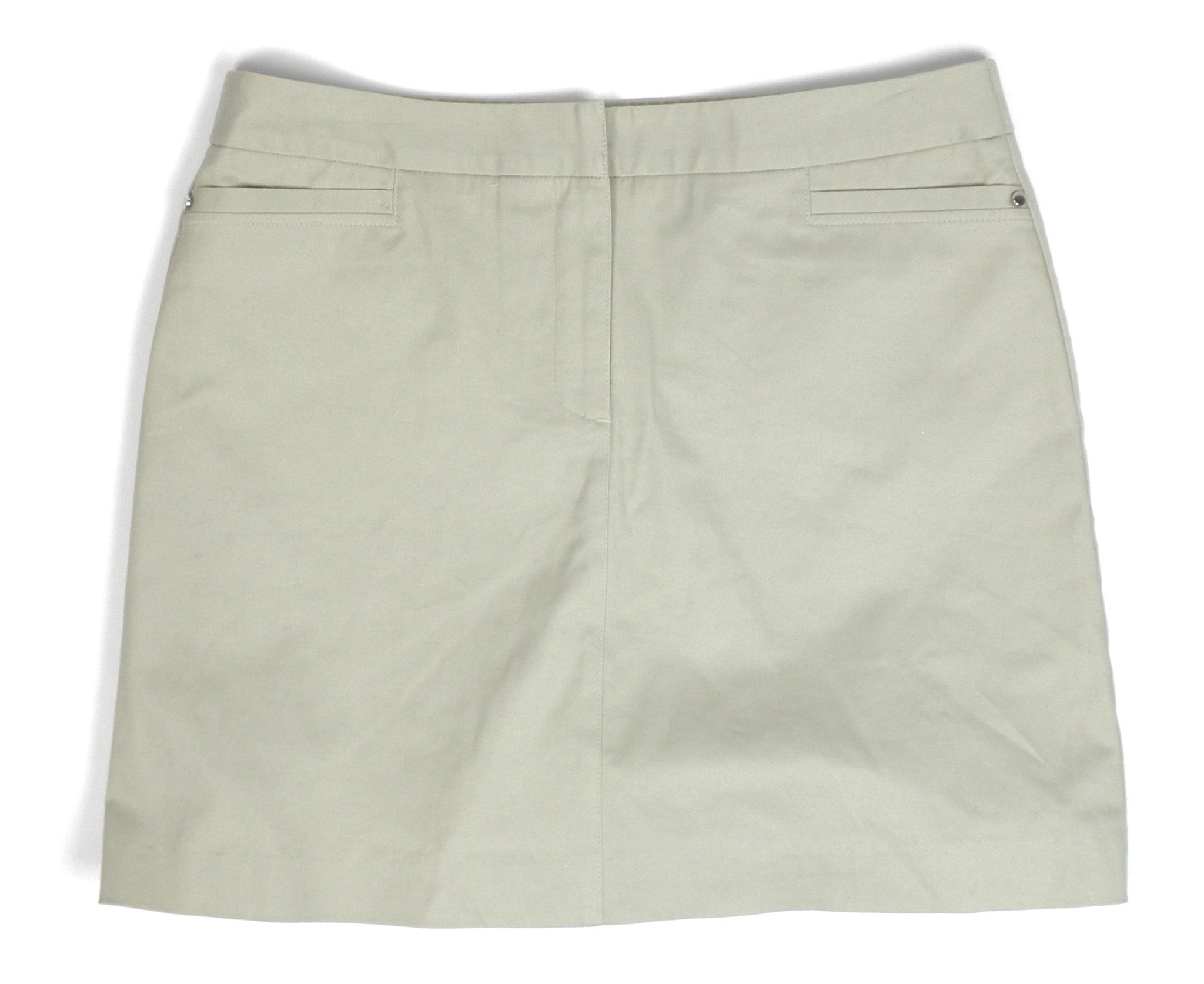 Briggs Khaki Skort - Size 10 - The Fashion Foundation