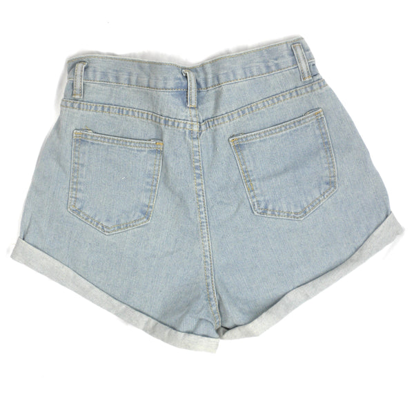 Zaful Lightwash Denim Shorts - Small and Medium - Donated From The Designer - The Fashion Foundation