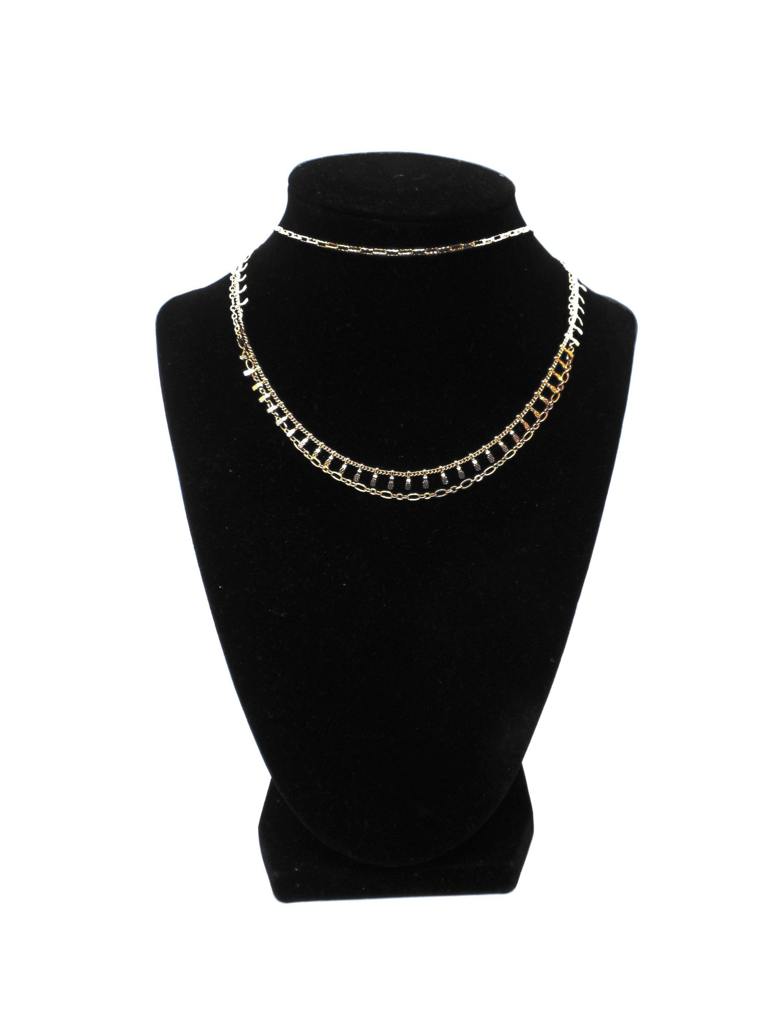 Gold 3 Piece Necklace
