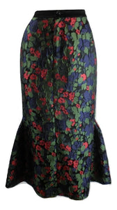 Anna Sui Floral Skirt - Size Small - New With Tags - The Fashion Foundation