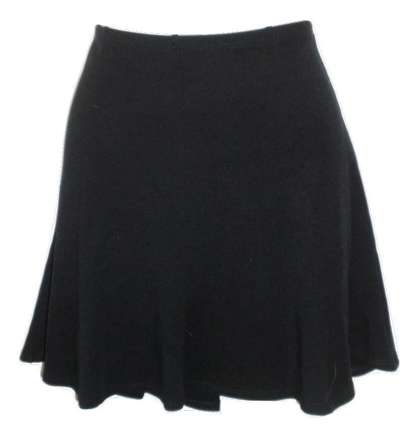Bailey44 Black Flared Panel Mini Skirt - Size Small