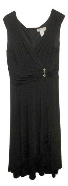 Coldwater Creek Black Sleeveless Dress - Size 10 - The Fashion Foundation