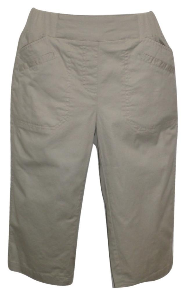 Christopher & Banks Khaki Capri - Size 4 to 16 - Donated From The Designer