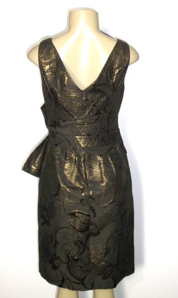 Kay Unger Bronze Dress - Size 4