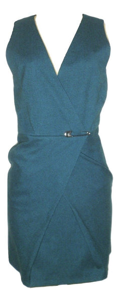 Filippa K Teal Dress - Size Extra Small - The Fashion Foundation