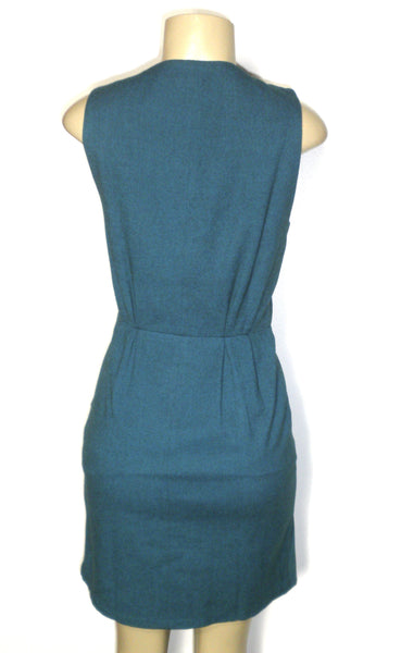 Filippa K Teal Dress - Size Extra Small