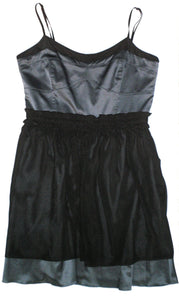 BCBG Black and Blue Dress - Size 10 - The Fashion Foundation