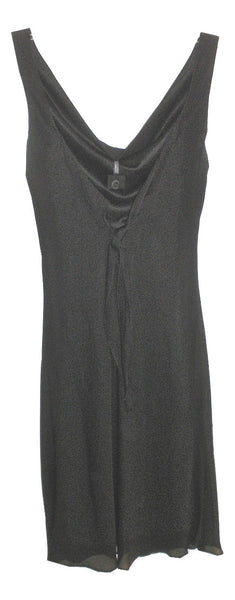 Jump Apparel Black Dress with Bow Back - Size 3/4