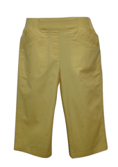 Christopher & Banks Yellow Capri - Size 4 to 16 - Donated From The Designer
