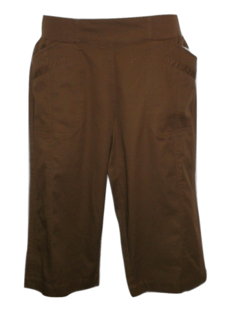 Christopher & Banks Brown Capri - Size 6 to 18 - Donated From The Designer