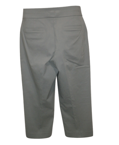 Briggs Gray Cropped Trousers - Size 10 to 18 - Donated From The Designer