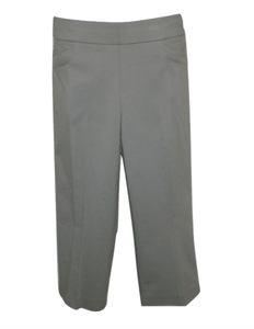 Briggs Gray Cropped Trousers - Size 18 - The Fashion Foundation
