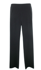 Style & Co Navy Straight Leg Trousers - Size 4P to 10P - Donated From The Designer
