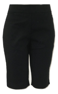 Briggs Black Bermuda Shorts - Size 10 - Donated From The Designer