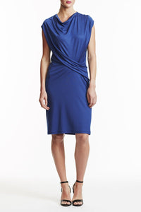 Laura Delman Sleeveless Blue Dress - Size 2, 4, 8, 10, 12 - Donated From The Designer