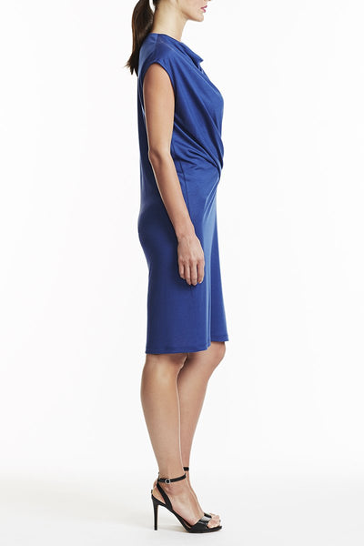 Laura Delman Sleeveless Blue Dress - Size 2, 4, 8, 10, 12 - Donated From The Designer - The Fashion Foundation