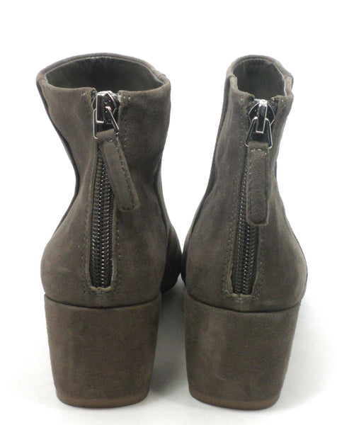 Nine West Tan/Grey Suede Booties - Size 6 - Donated From The Designer - The Fashion Foundation