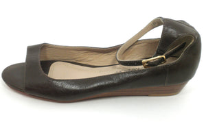 Rebecca Minkoff Brown Ankle Strap Sandal - Size 6 - Donated From The Designer - The Fashion Foundation