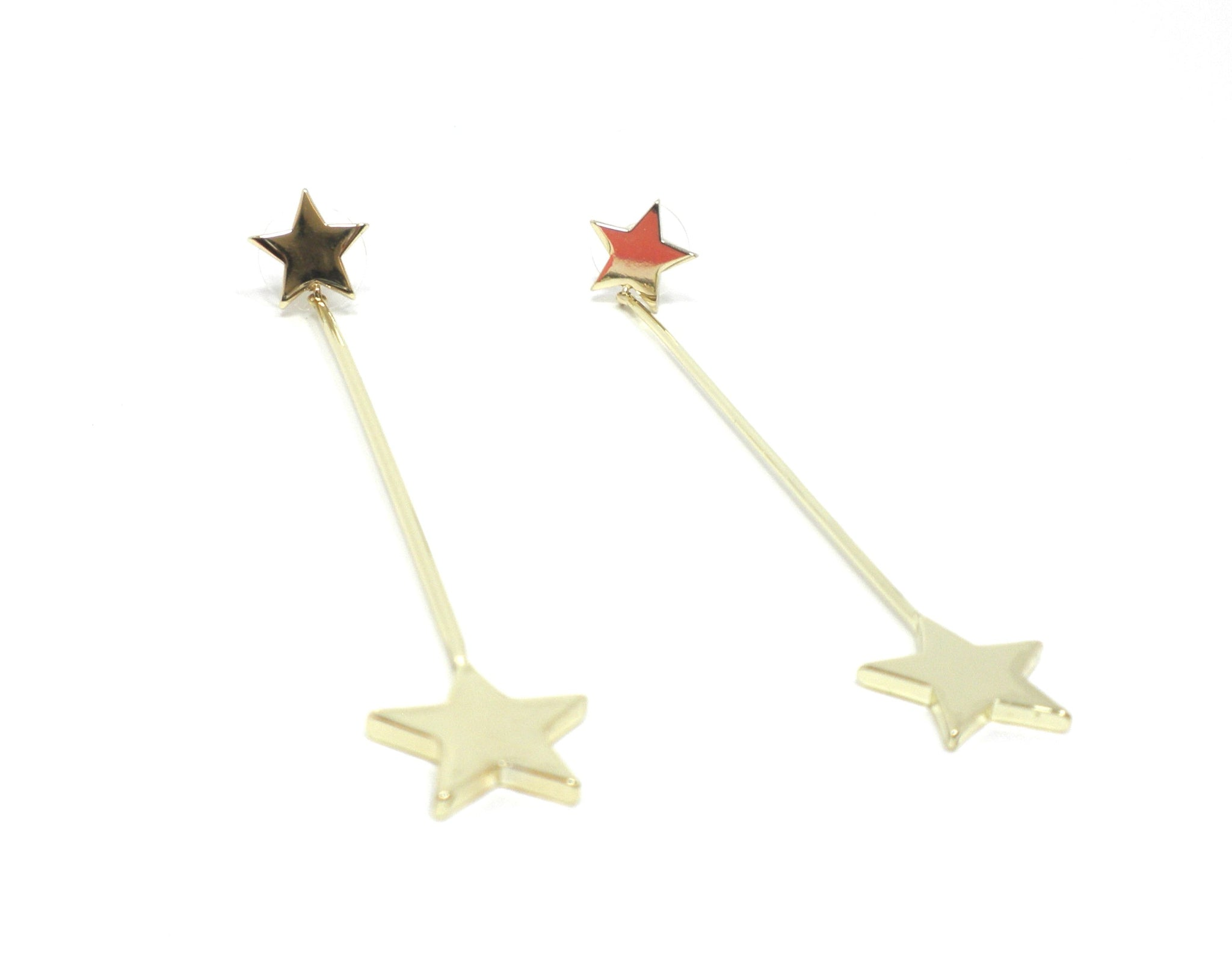 Stella & Ruby Gold Star Earrings - Donated From The Designer - The Fashion Foundation