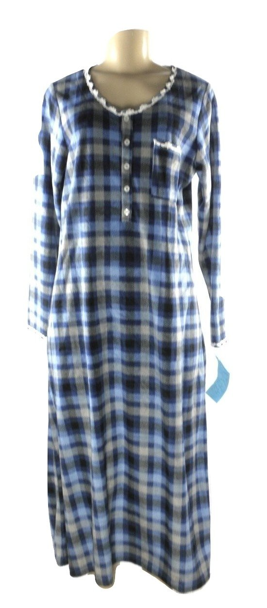 Carole Hochman Long Pajama Nightgown - Size Medium - The Fashion Foundation