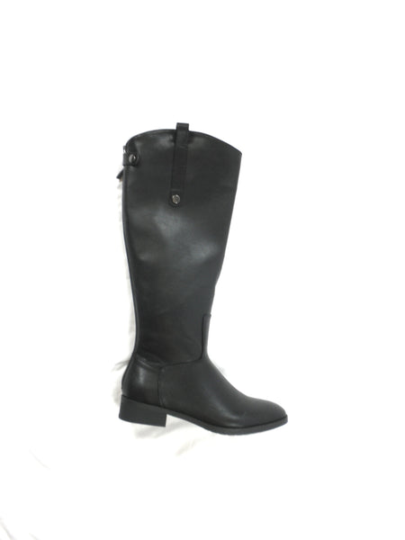 Amazon Essentials Black Faux Leather Boots - Size 8 - The Fashion Foundation