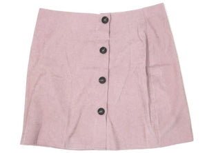 Zaful Pink Button Down Skirt - Size Large - Donated From Designer - The Fashion Foundation