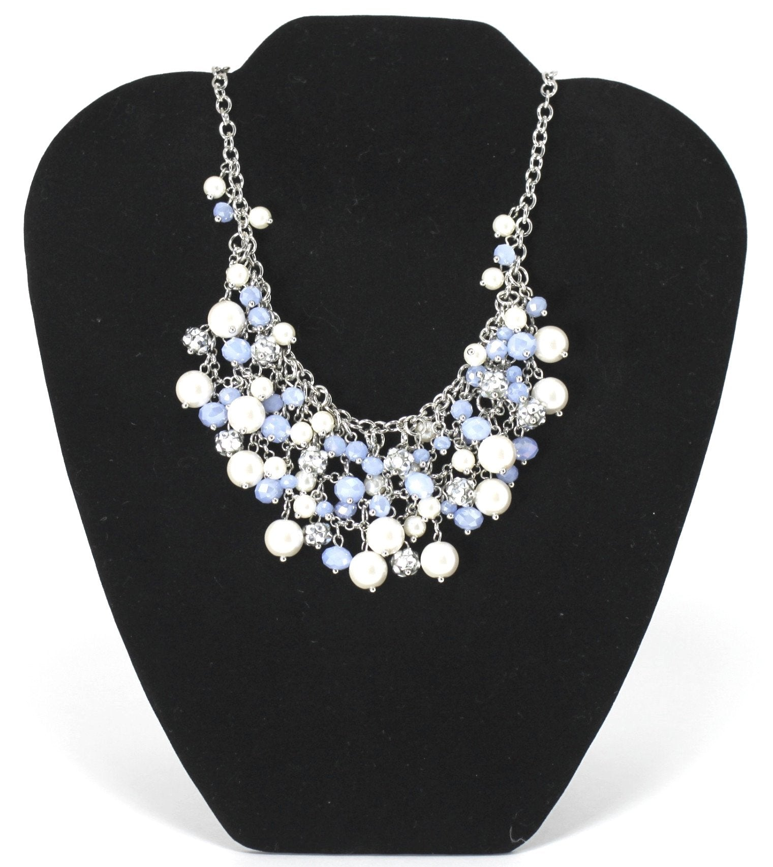 Periwinkle Blue Charm Necklace - Donated From The Designer - The Fashion Foundation
