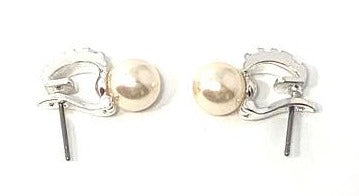 "Dangling Pearl Earrings With ""XII"" Detailing - The Fashion Foundation"