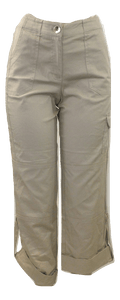 Briggs Light Tan Pants - Size Medium - Donated From The Designer