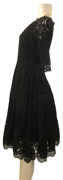 Cistar Black Lace Off The Shoulder Dress- Size S, M, L- Donated From The Designer