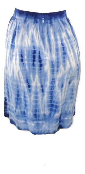 Dept 222 Blue And White Tie Dye Skirt - Size 8 - The Fashion Foundation