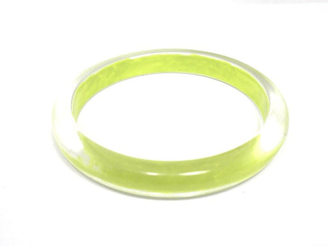 Yellow Green Bangle - The Fashion Foundation - {{ discount designer}}