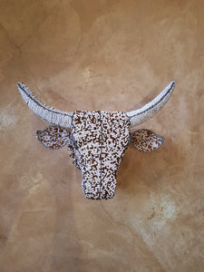 Beaded Cows - Gold