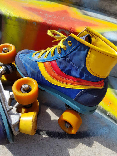 California Rainbow Roller Skates