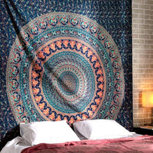 Load image into Gallery viewer, Earthchild Mandala Queen Throw