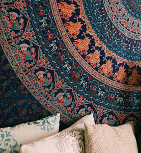 Earthchild Mandala Queen Throw