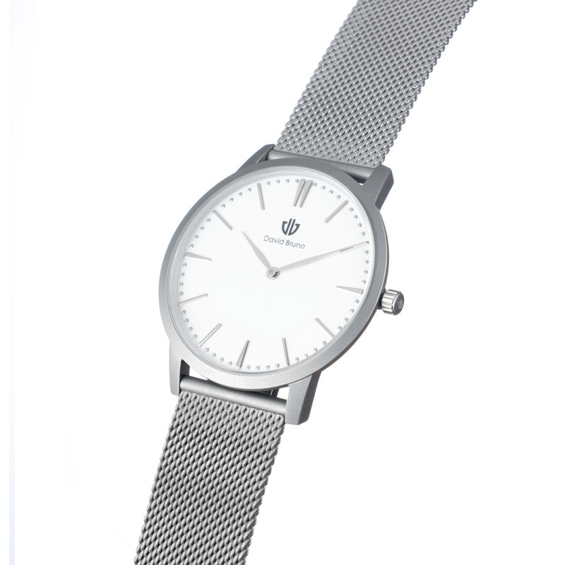 The Classic Steel Mesh Watch