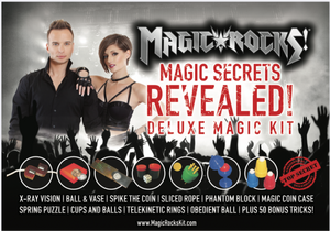 Magic Rocks!™ Deluxe Magic Kit