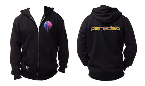 Paradiso Black Zip Up